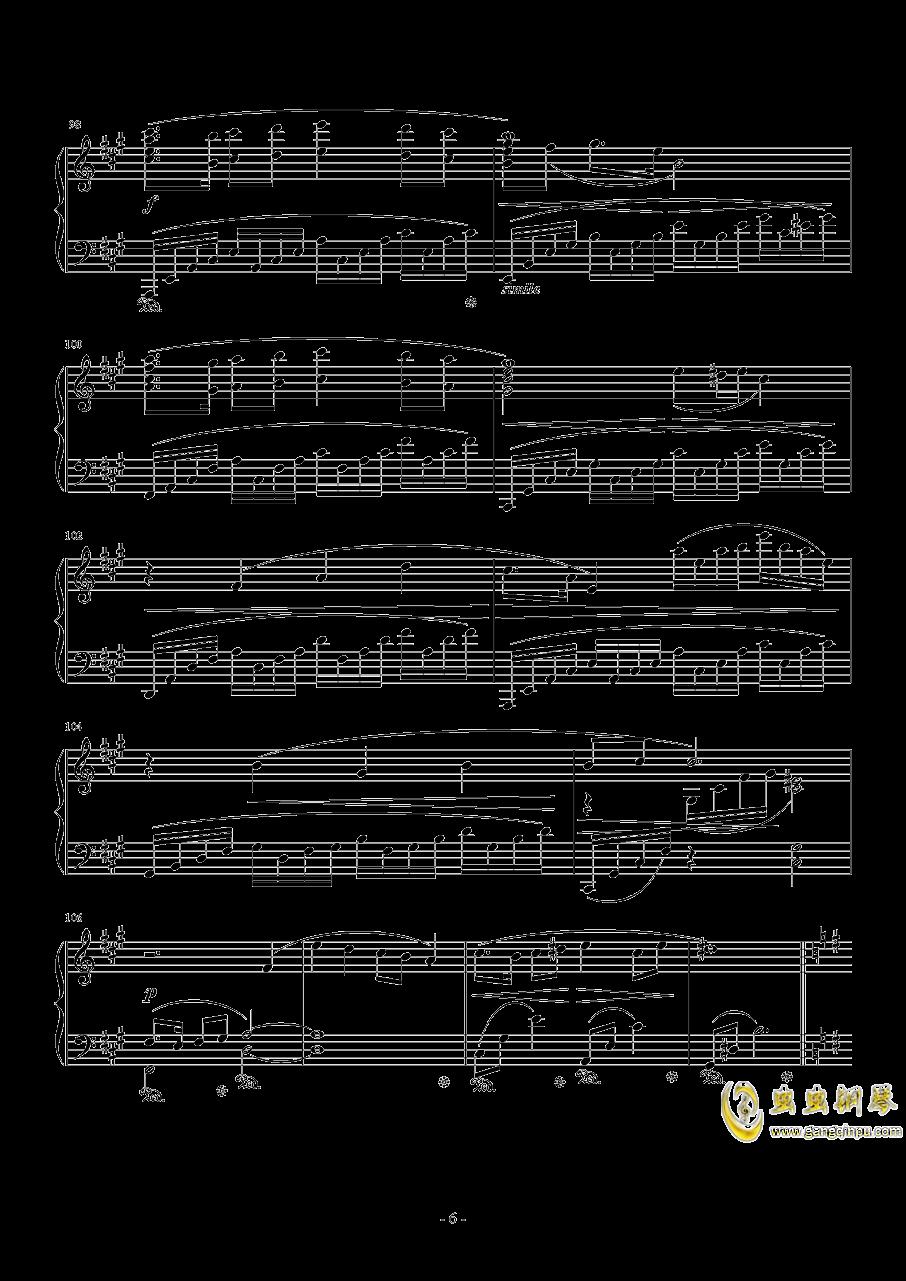 Ronfaure钢琴谱 第6页