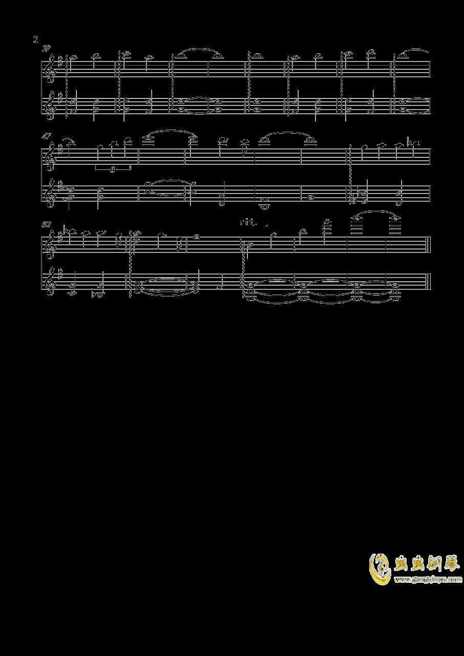 复仇者联盟4终局之战钢琴谱 第2页