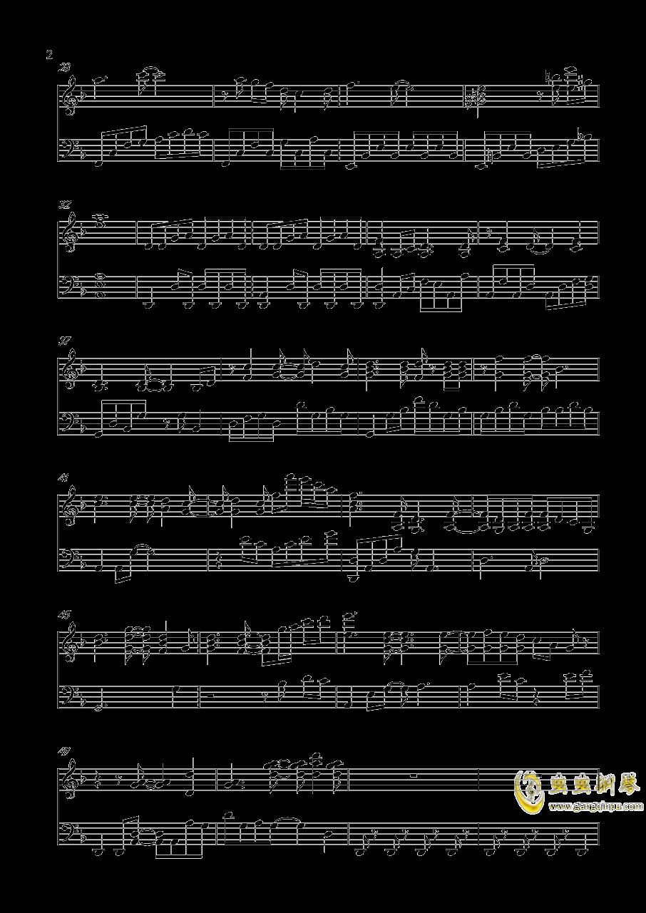 世上始终你好钢琴谱 第2页