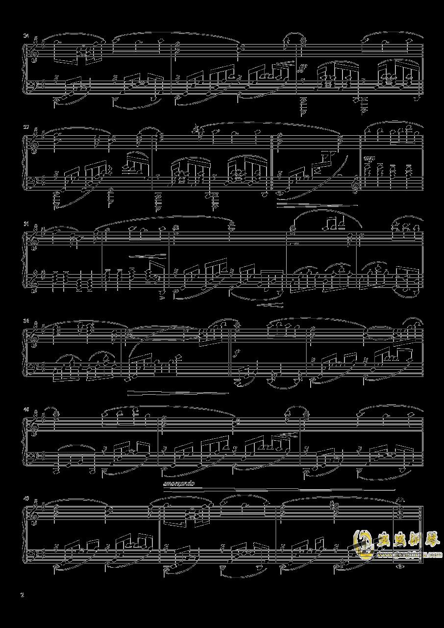 fate stay night钢琴谱 第2页