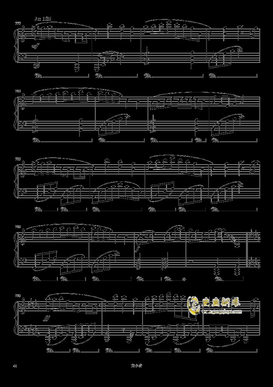 东方组曲连弹 2019钢琴谱 第42页