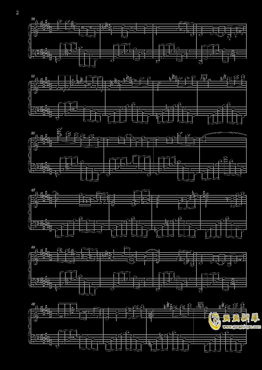 寄世界于偶像钢琴谱 第2页