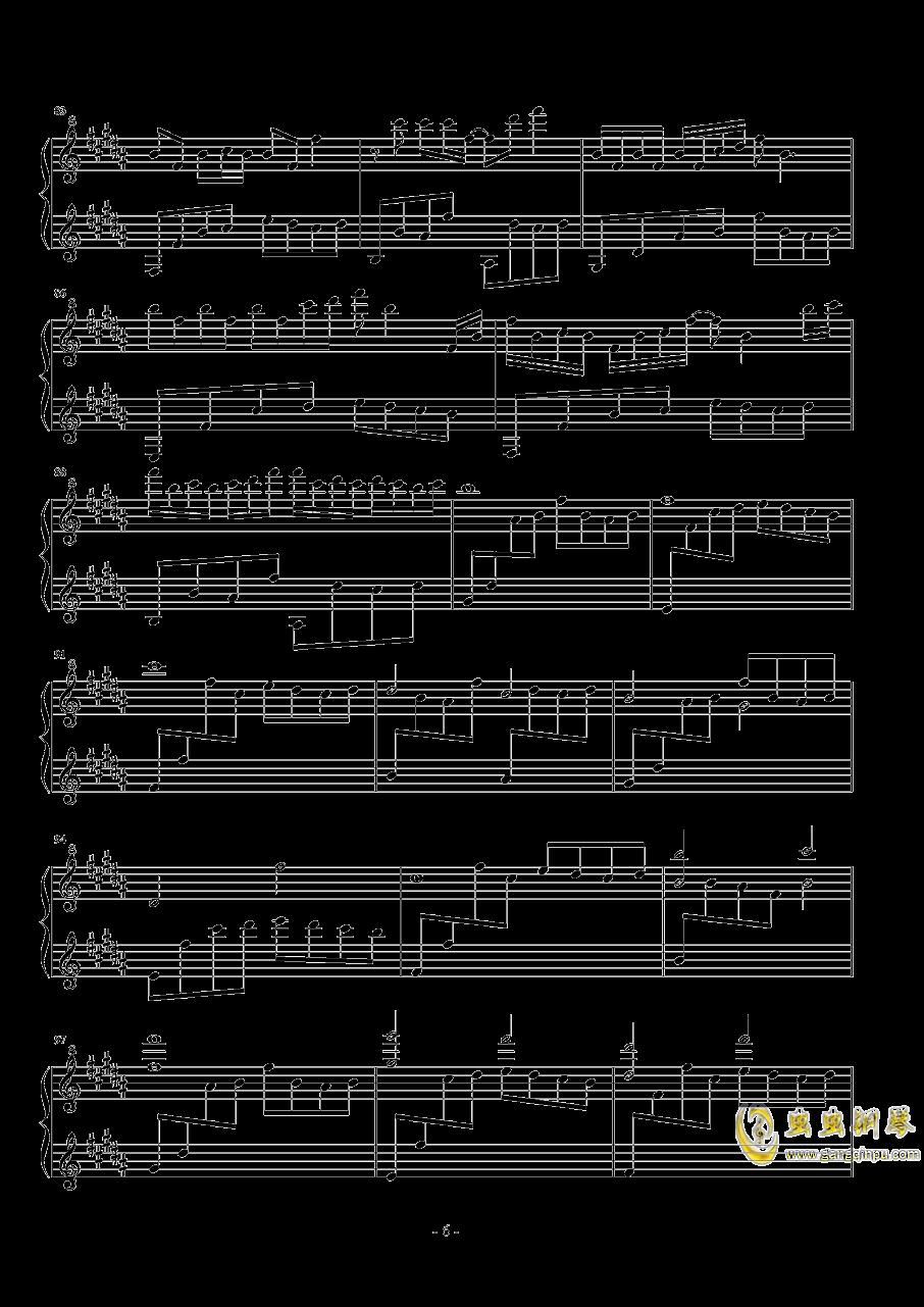 森林钢琴谱 第6页
