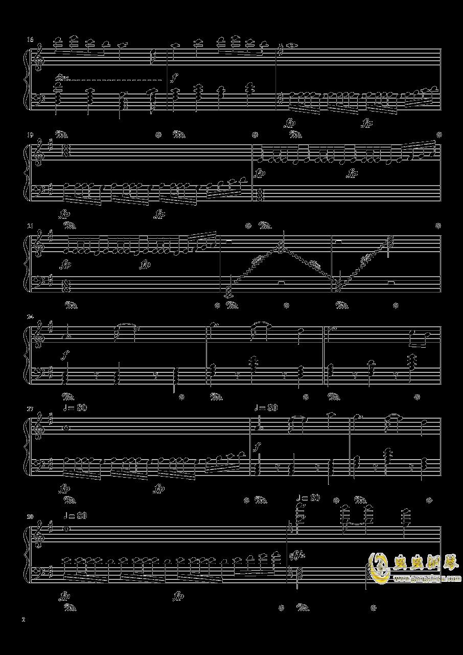 忘羡钢琴谱 第2页