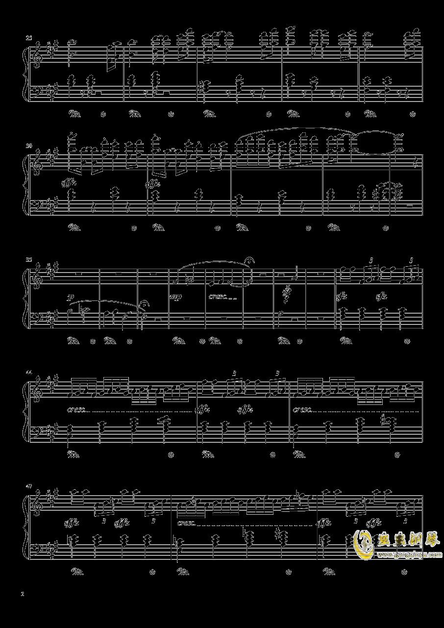 双面燕洵钢琴谱 第2页
