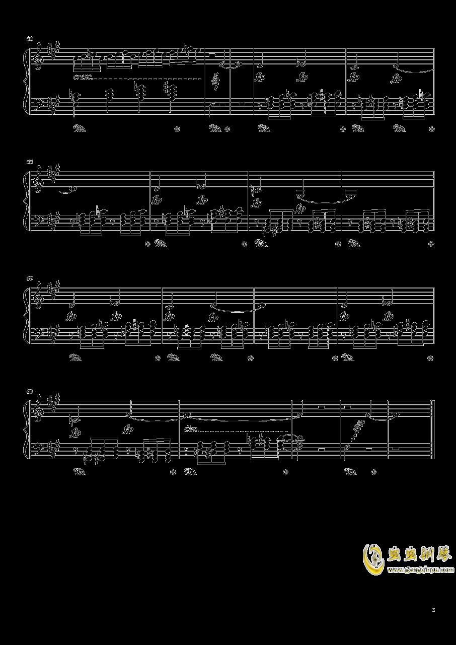 双面燕洵钢琴谱 第3页