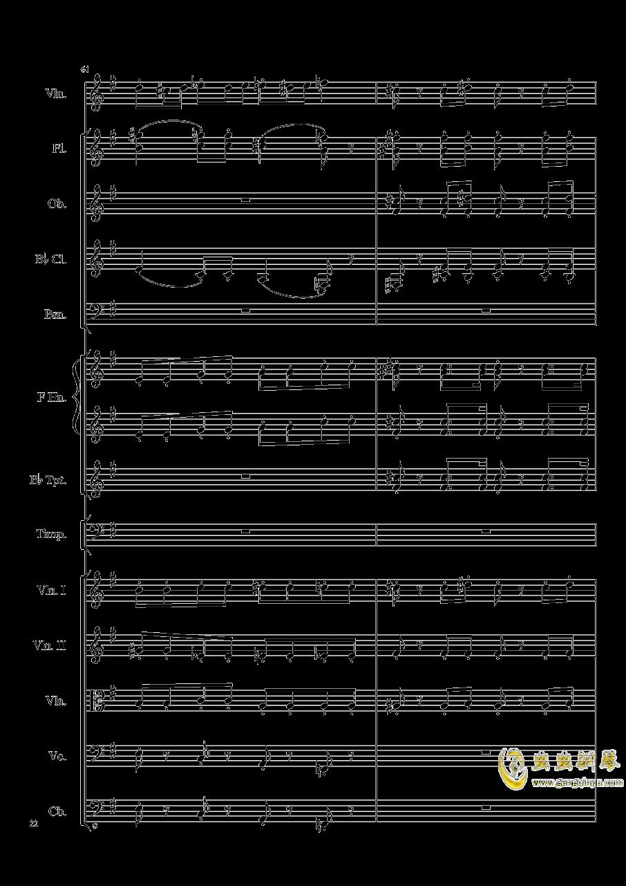 Rondo in G, Op.137钢琴谱 第22页