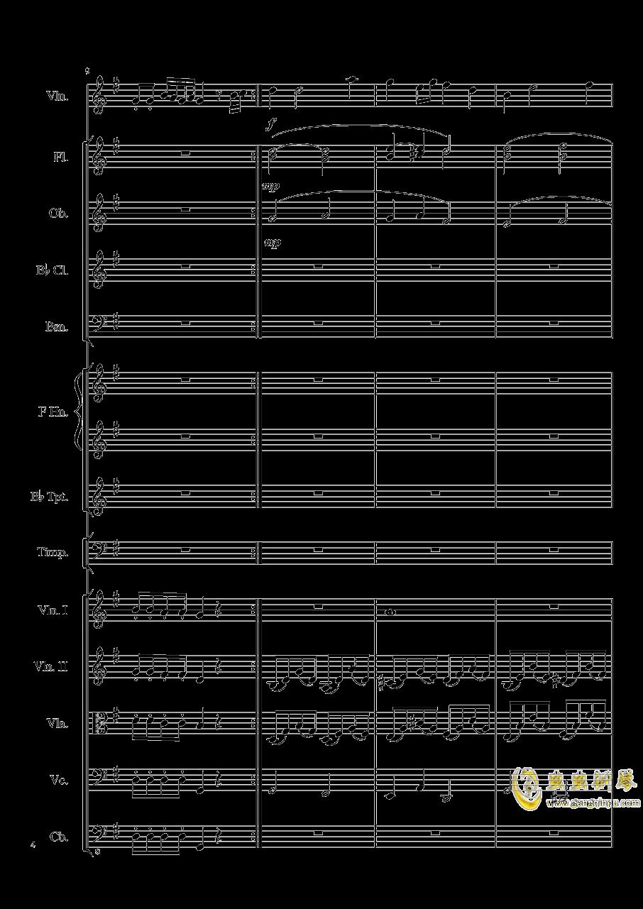 Rondo in G, Op.137钢琴谱 第4页