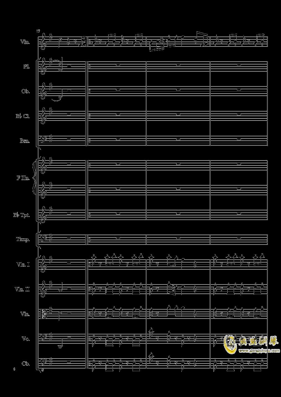 Rondo in G, Op.137钢琴谱 第6页