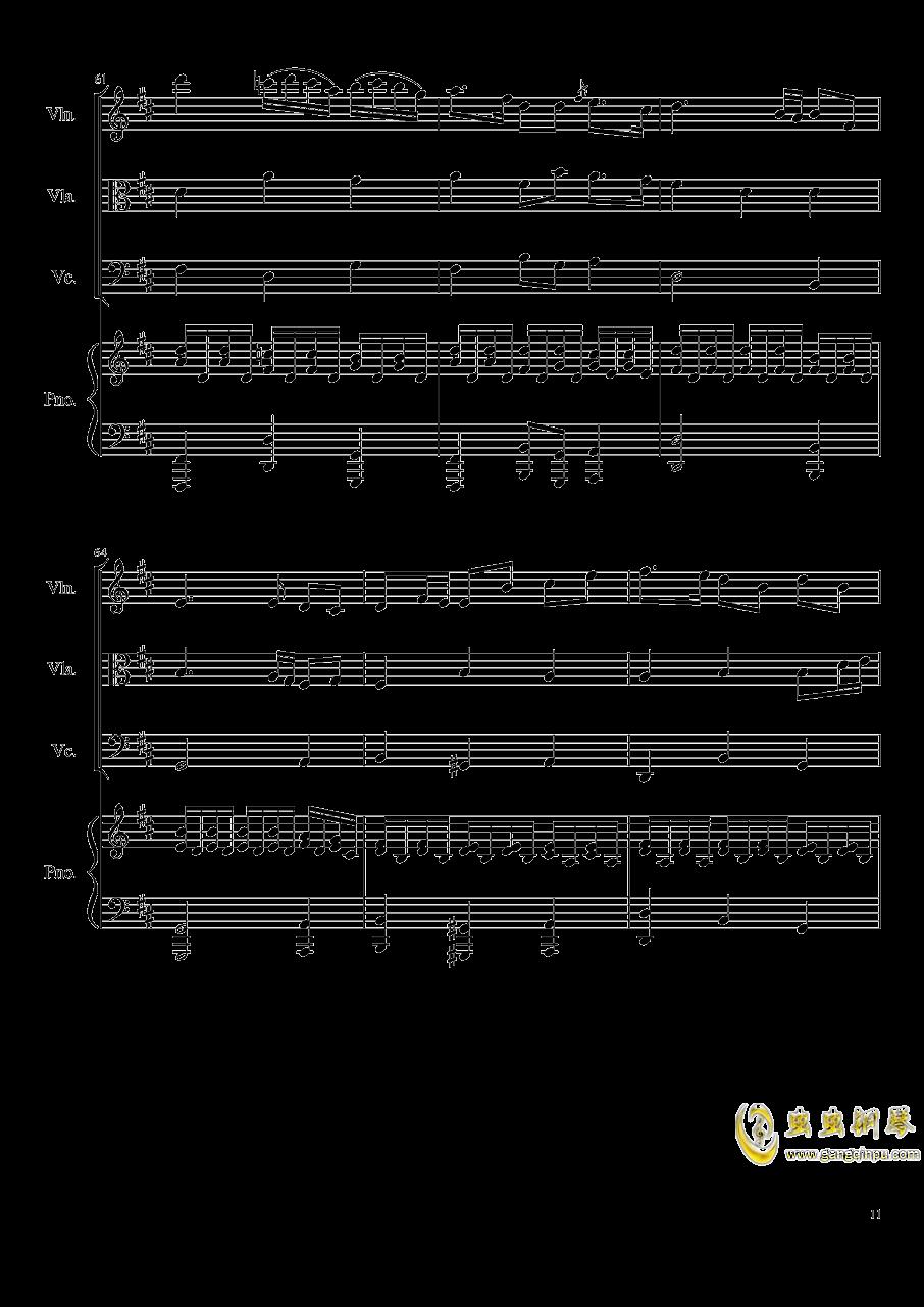 Autumn Song Op.111b钢琴谱 第11页