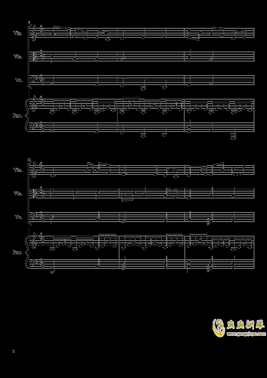 Autumn Song Op.111b钢琴谱 第2页