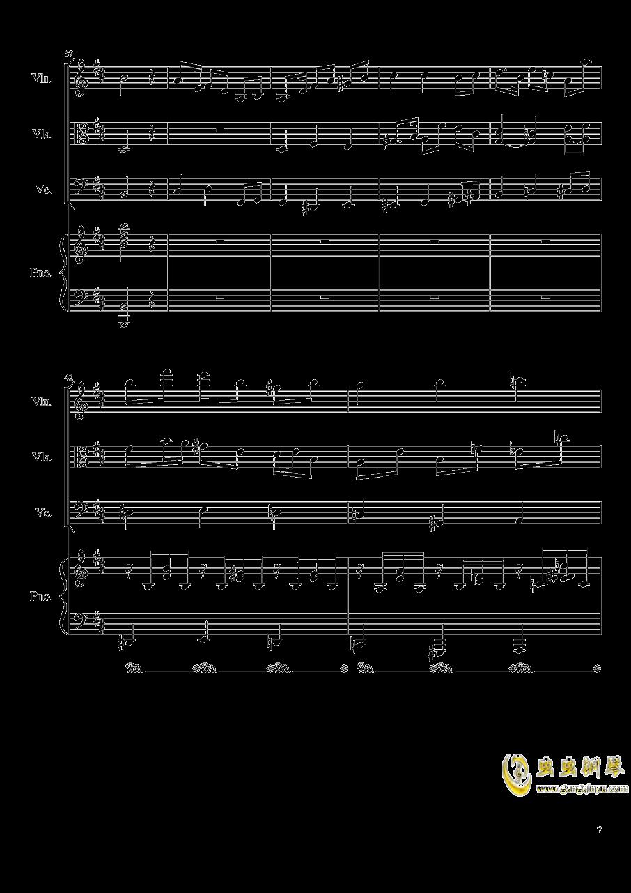 Autumn Song Op.111b钢琴谱 第7页