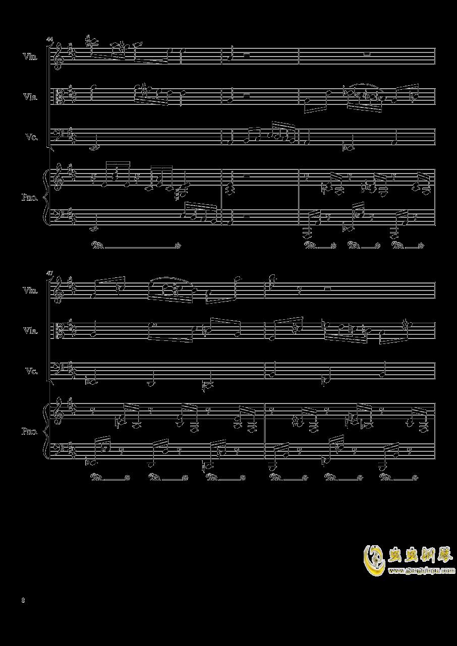 Autumn Song Op.111b钢琴谱 第8页