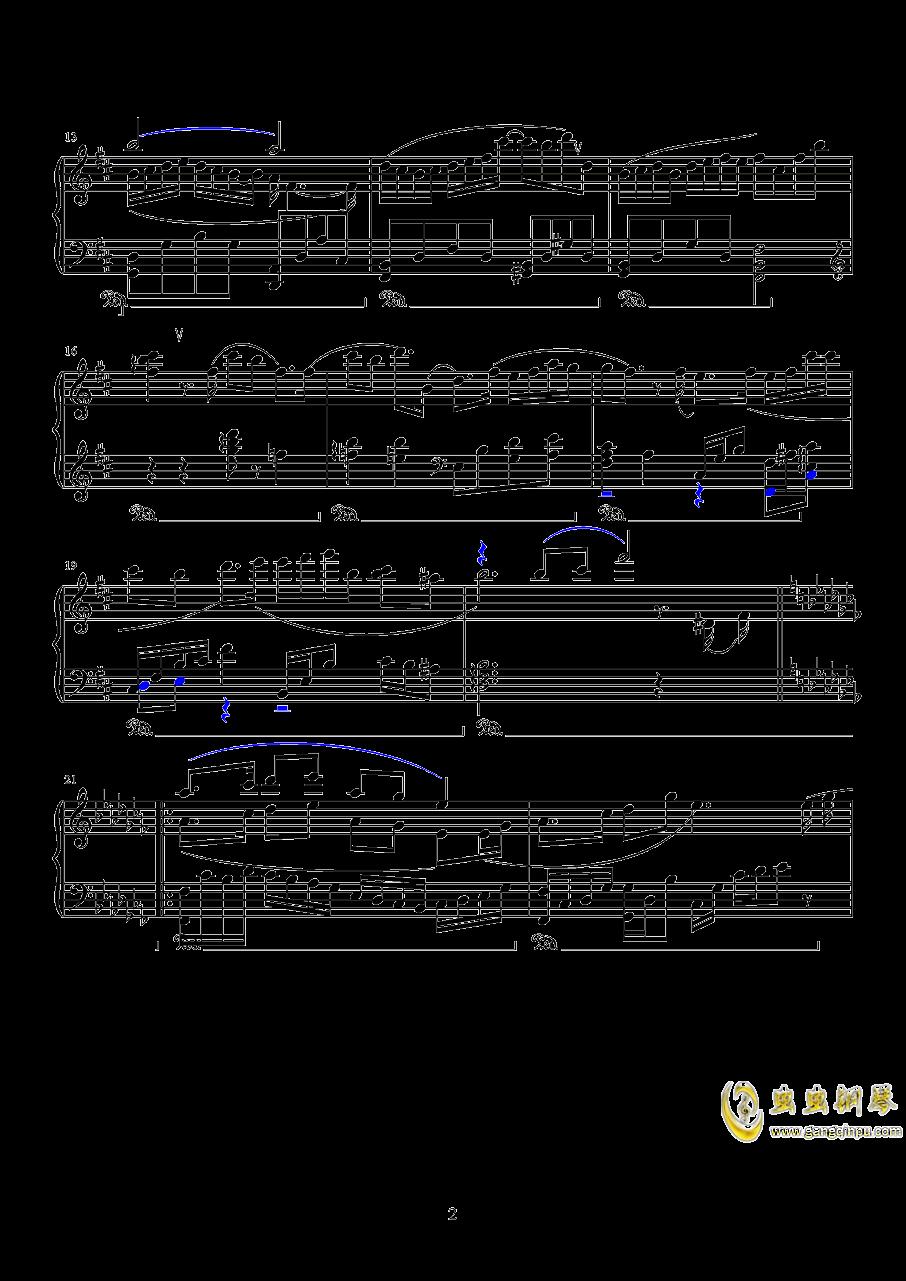 镜钢琴谱 第2页