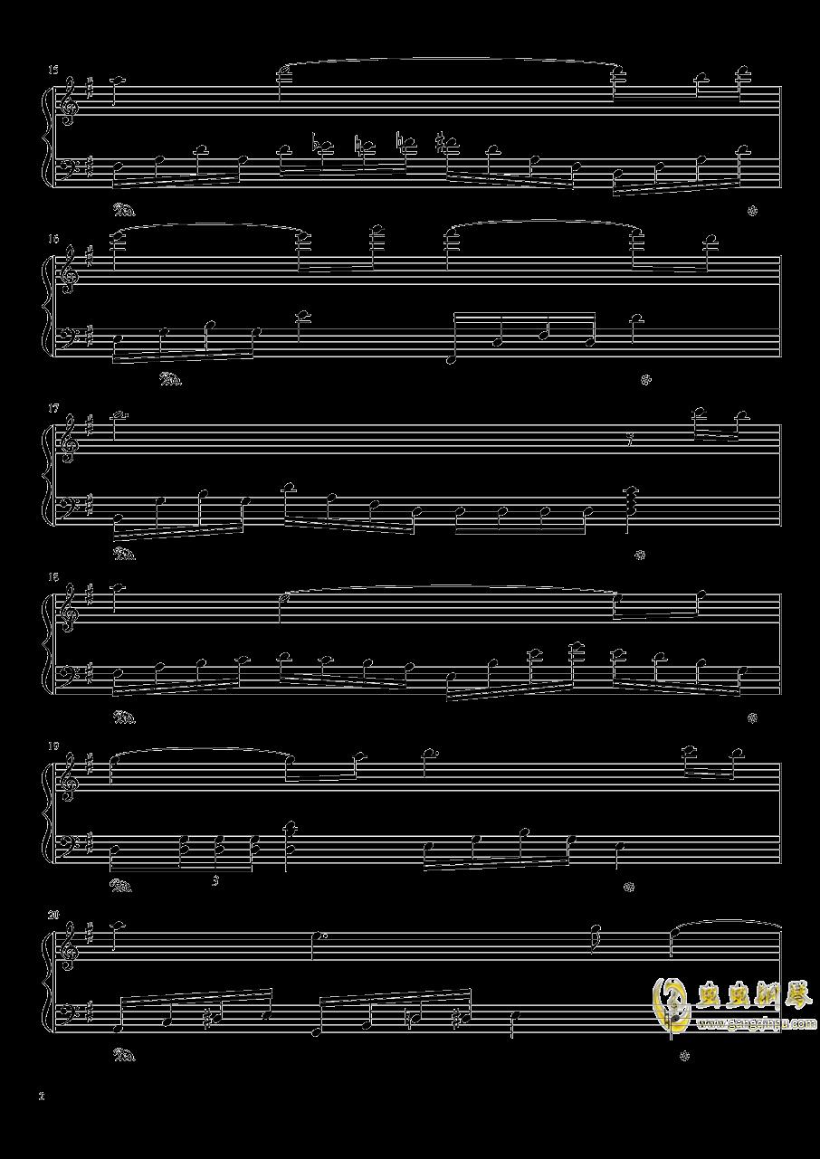 王者战歌钢琴谱 第2页