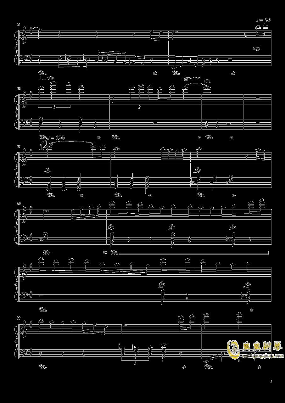 王者战歌钢琴谱 第3页