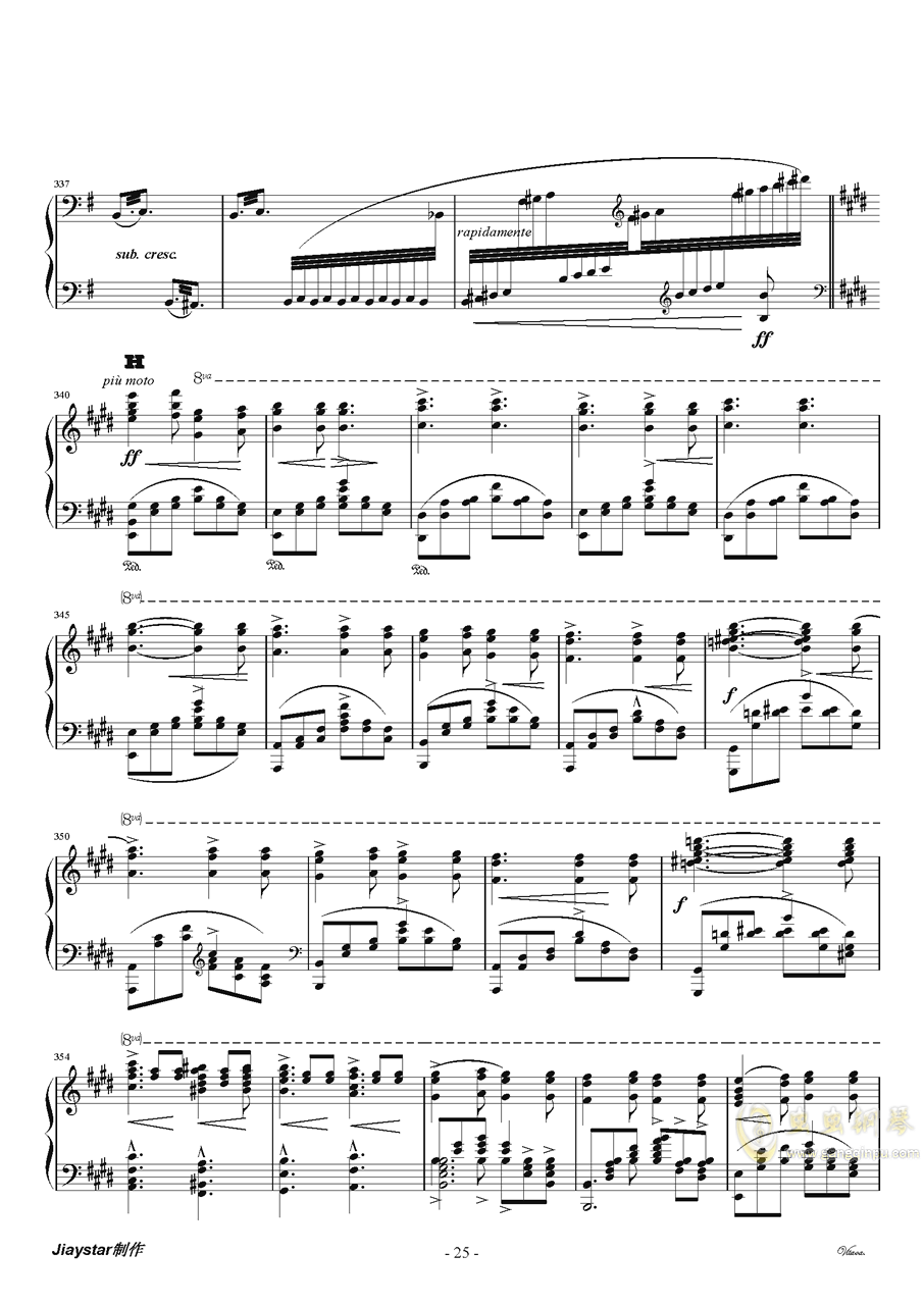 伏尔塔瓦河ag88环亚娱乐谱 第26页