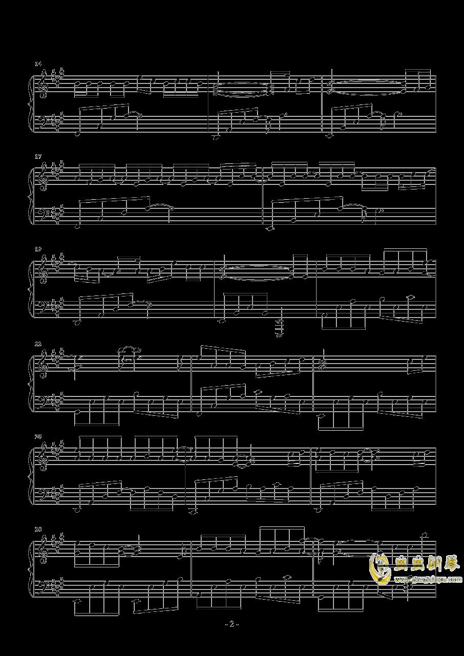 怎么了钢琴谱 第2页