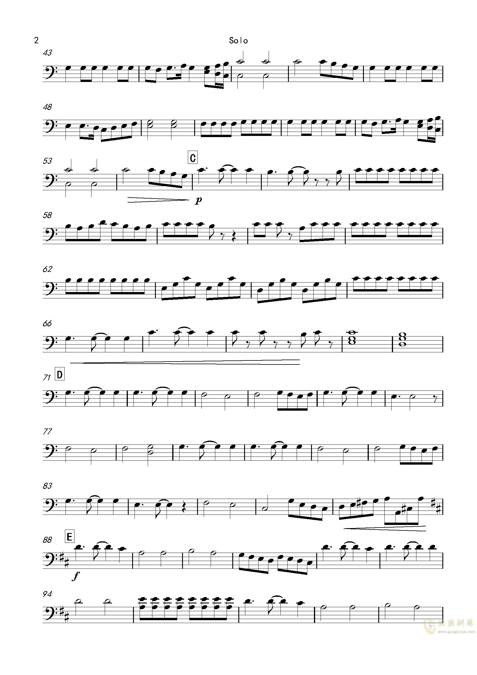 再别童年:3:天边的彩虹钢琴谱 第26页