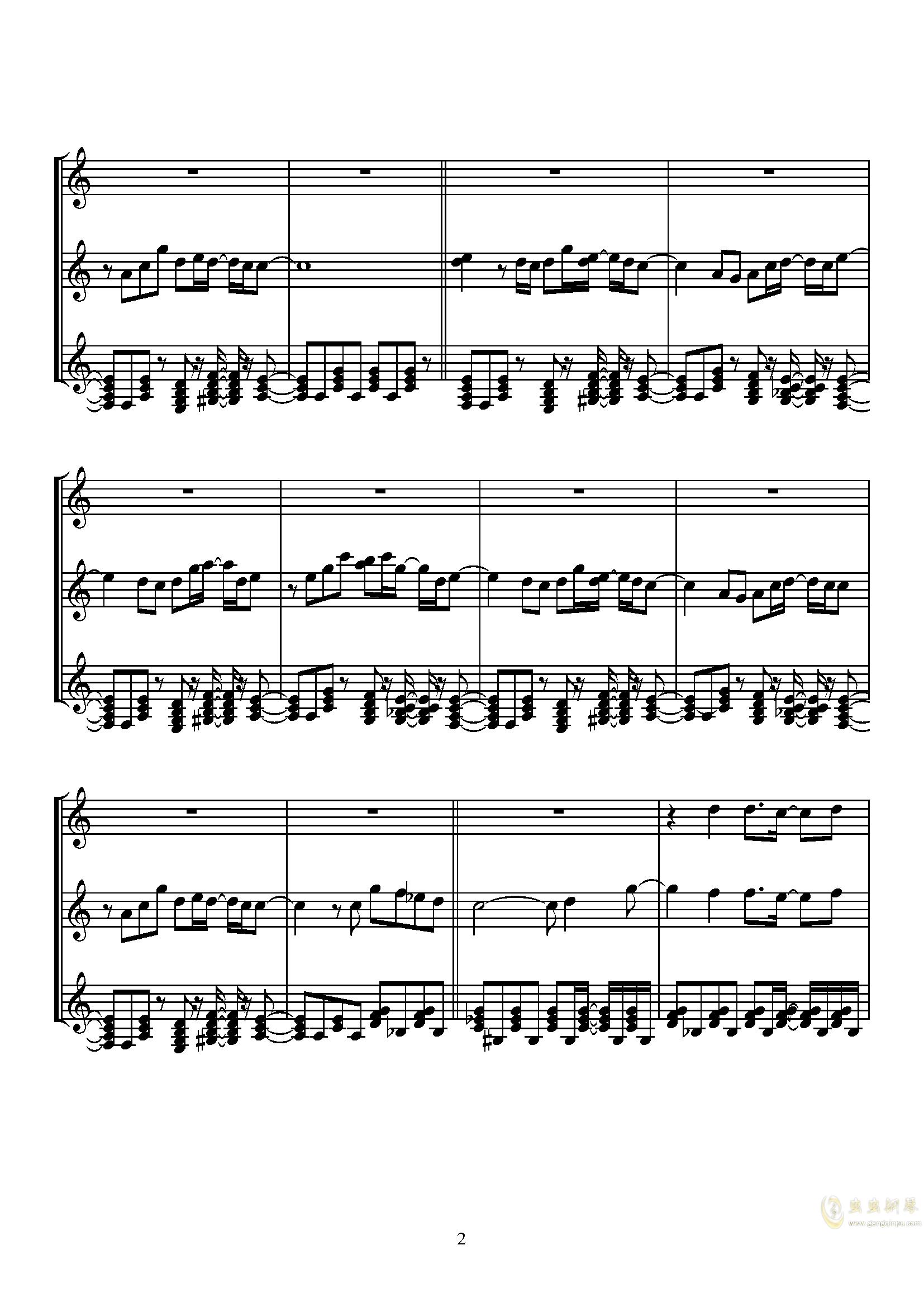 Sugar Magic钢琴谱 第2页