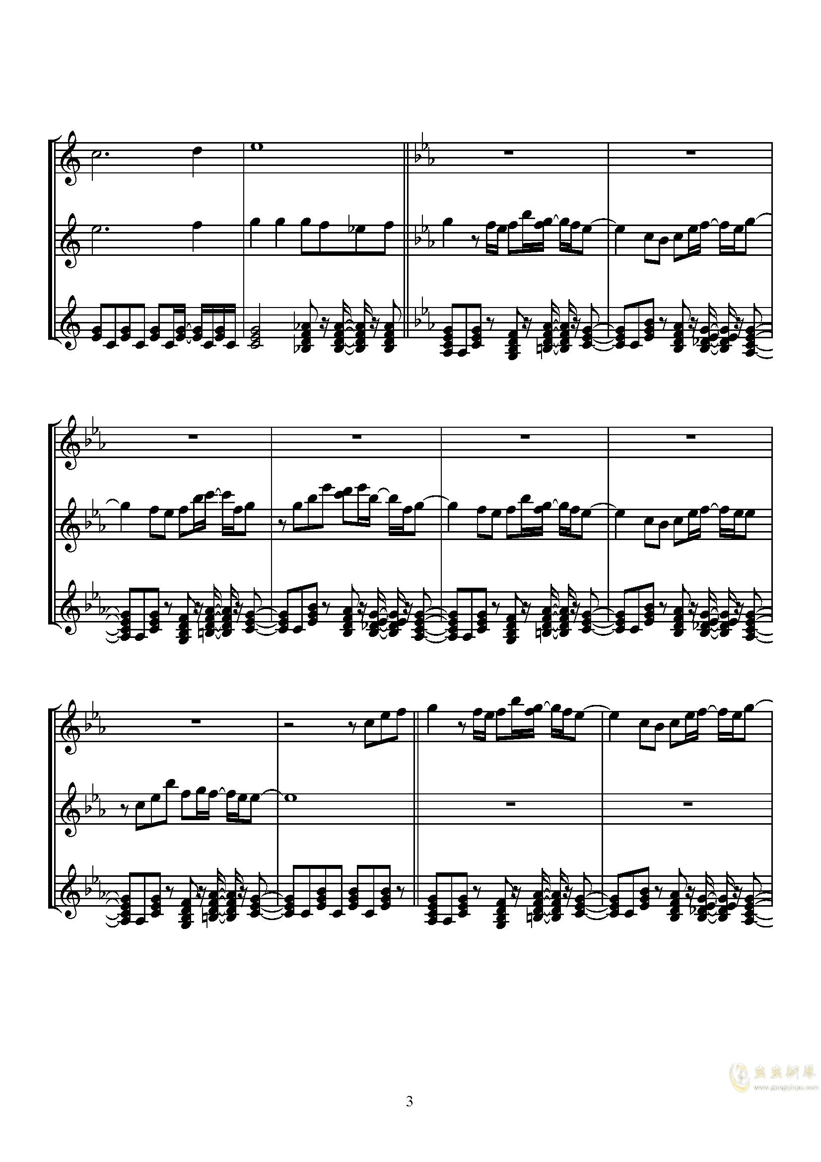 Sugar Magic钢琴谱 第3页