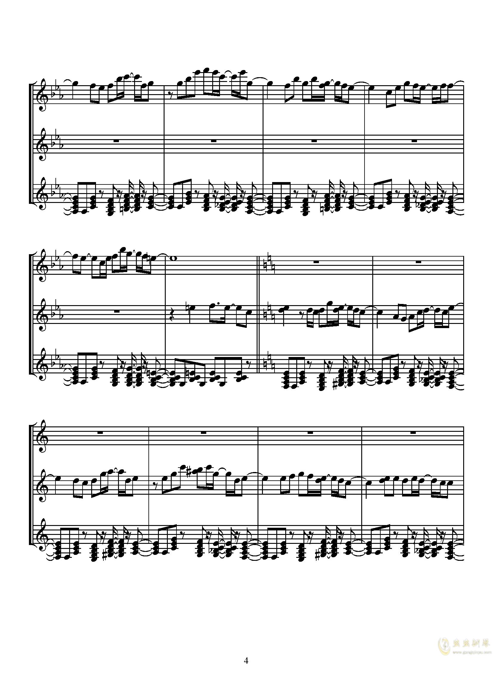 Sugar Magic钢琴谱 第4页