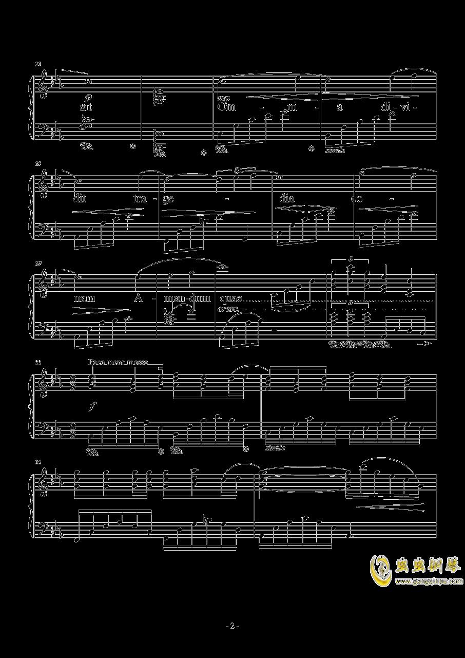 Somnus钢琴谱 第2页
