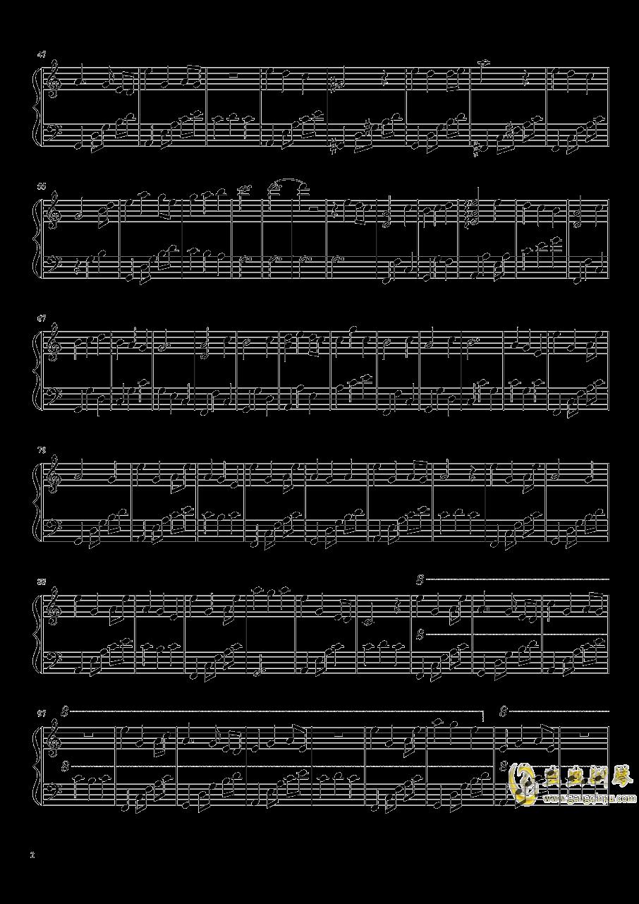 Collapse Dance钢琴谱 第2页
