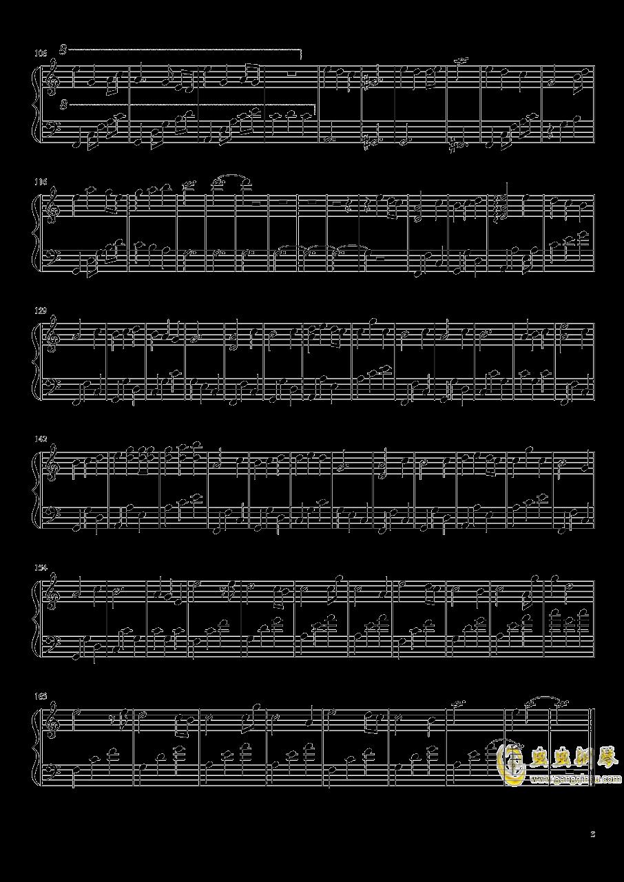 Collapse Dance钢琴谱 第3页