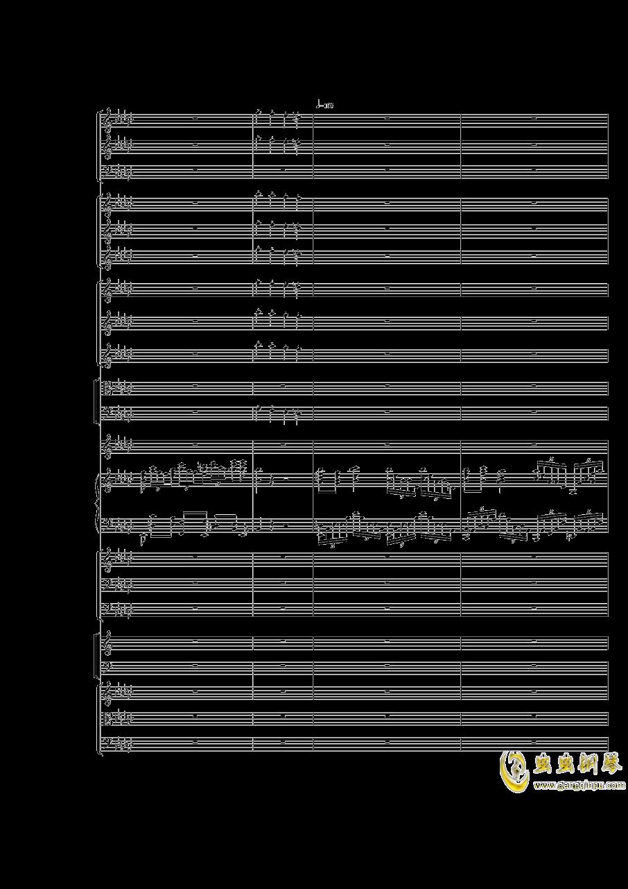 Piano Concerto No.3 in E Flat minor,I.Moderto钢琴谱 第13页