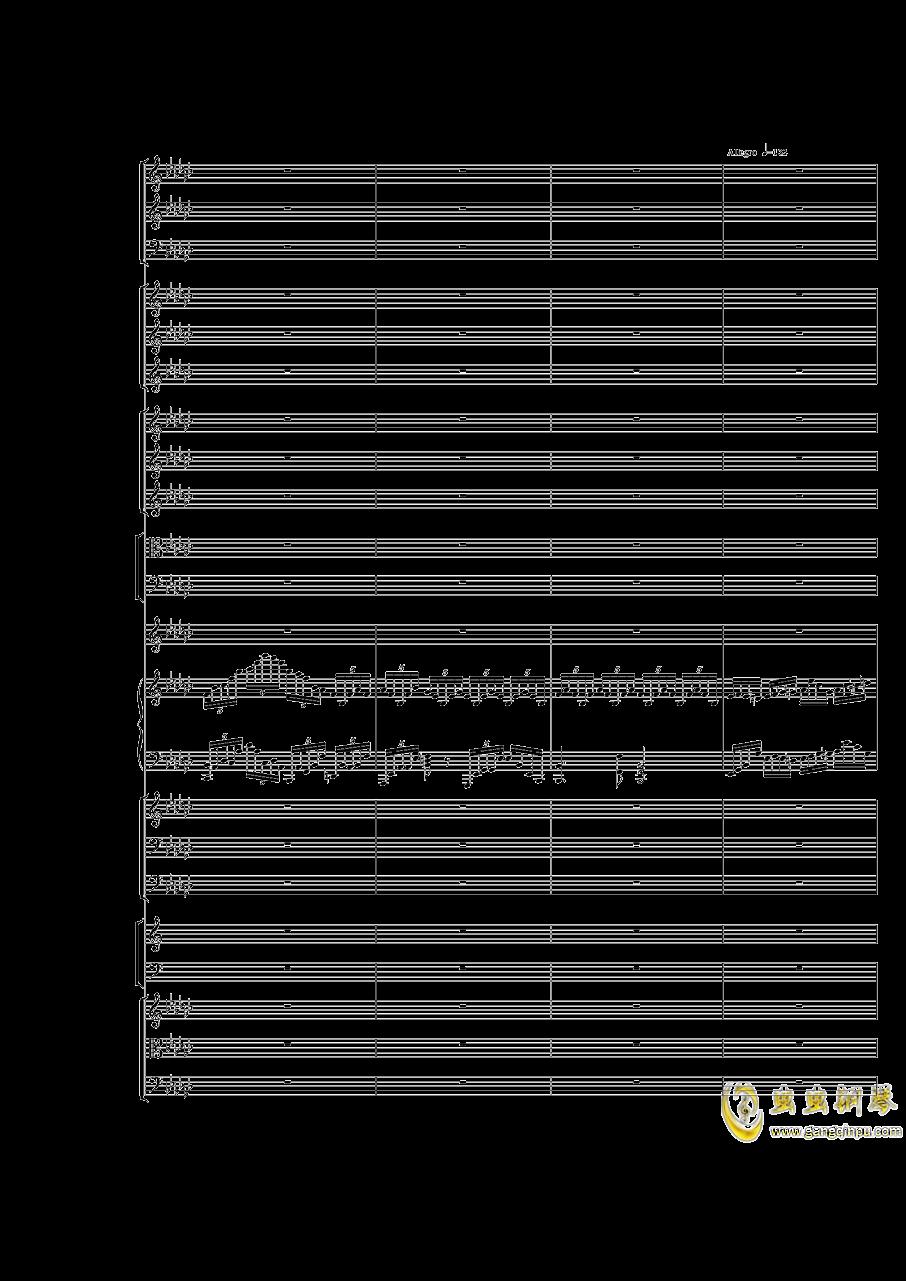 Piano Concerto No.3 in E Flat minor,I.Moderto钢琴谱 第15页