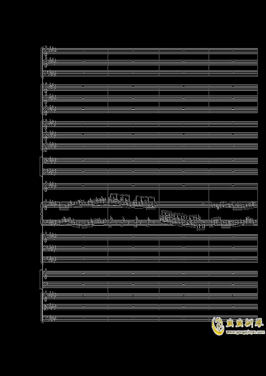 Piano Concerto No.3 in E Flat minor,I.Moderto钢琴谱 第16页