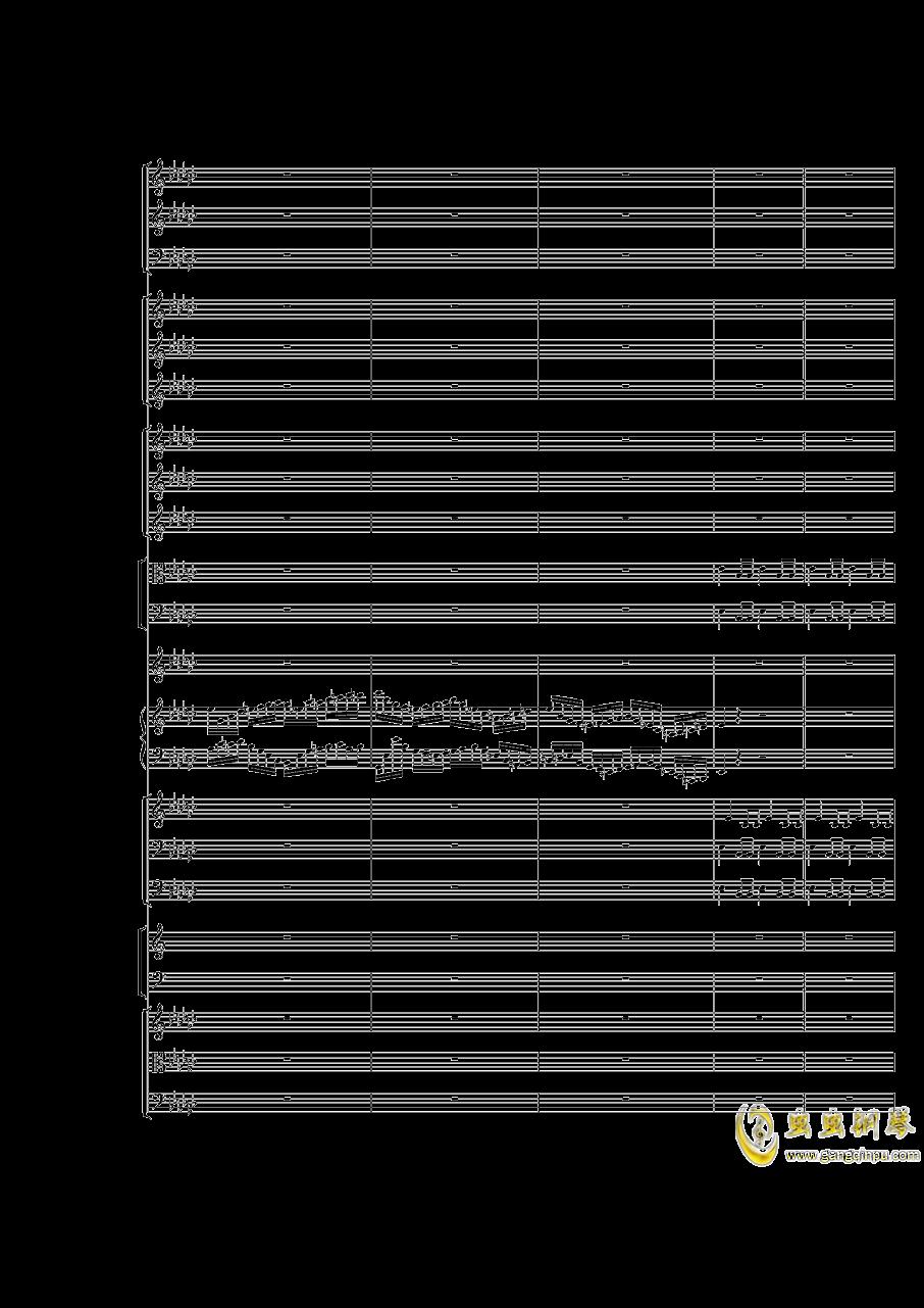 Piano Concerto No.3 in E Flat minor,I.Moderto钢琴谱 第17页