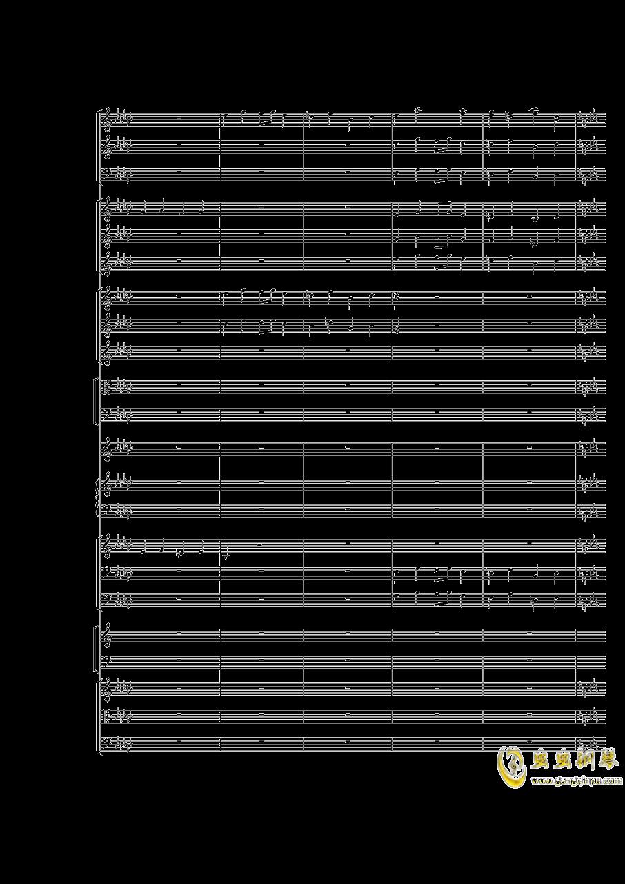 Piano Concerto No.3 in E Flat minor,I.Moderto钢琴谱 第19页