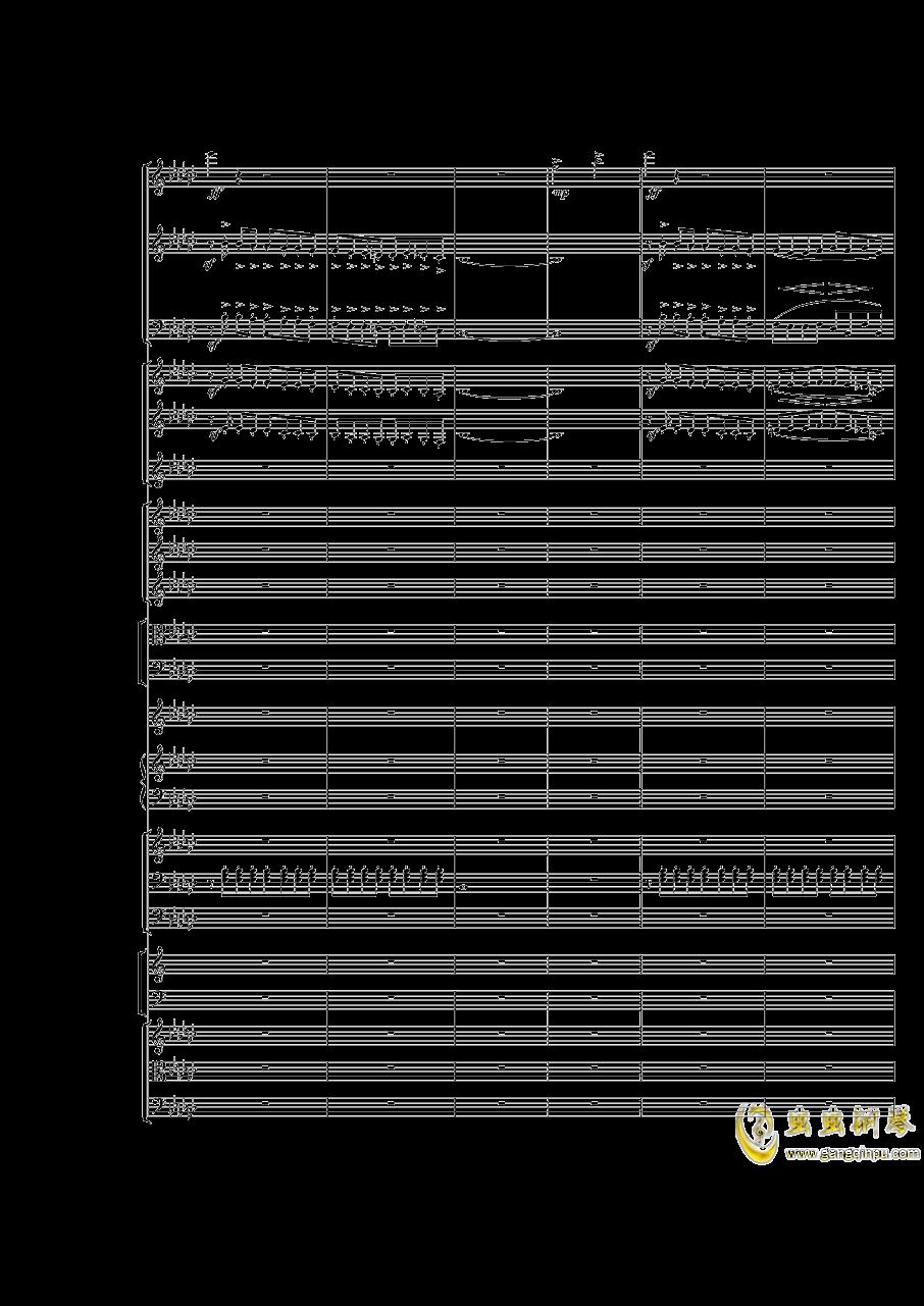 Piano Concerto No.3 in E Flat minor,I.Moderto钢琴谱 第2页