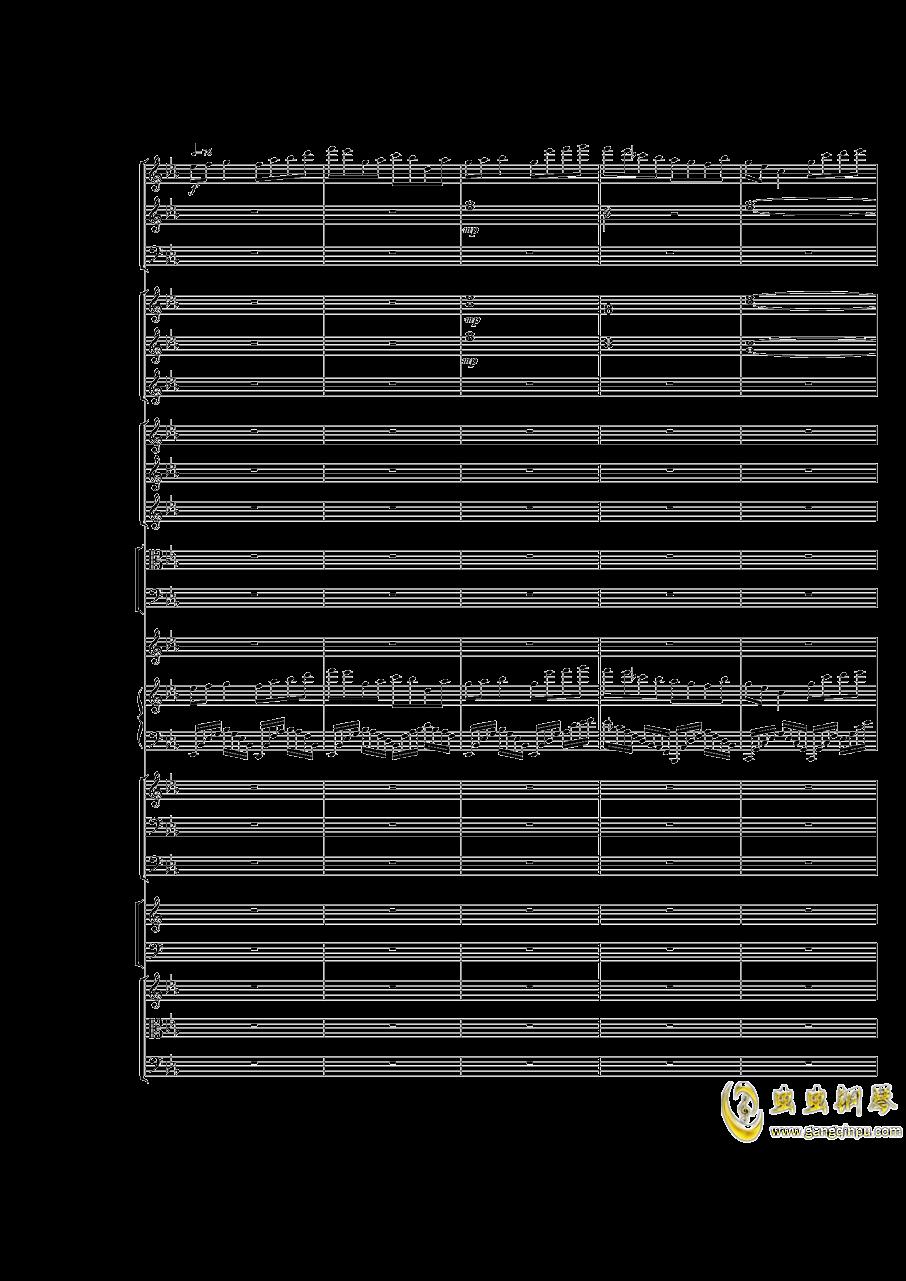 Piano Concerto No.3 in E Flat minor,I.Moderto钢琴谱 第20页