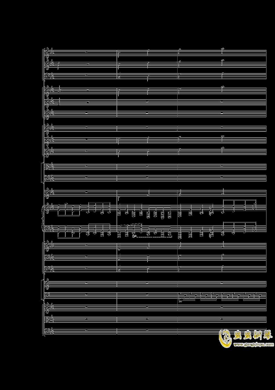 Piano Concerto No.3 in E Flat minor,I.Moderto钢琴谱 第25页