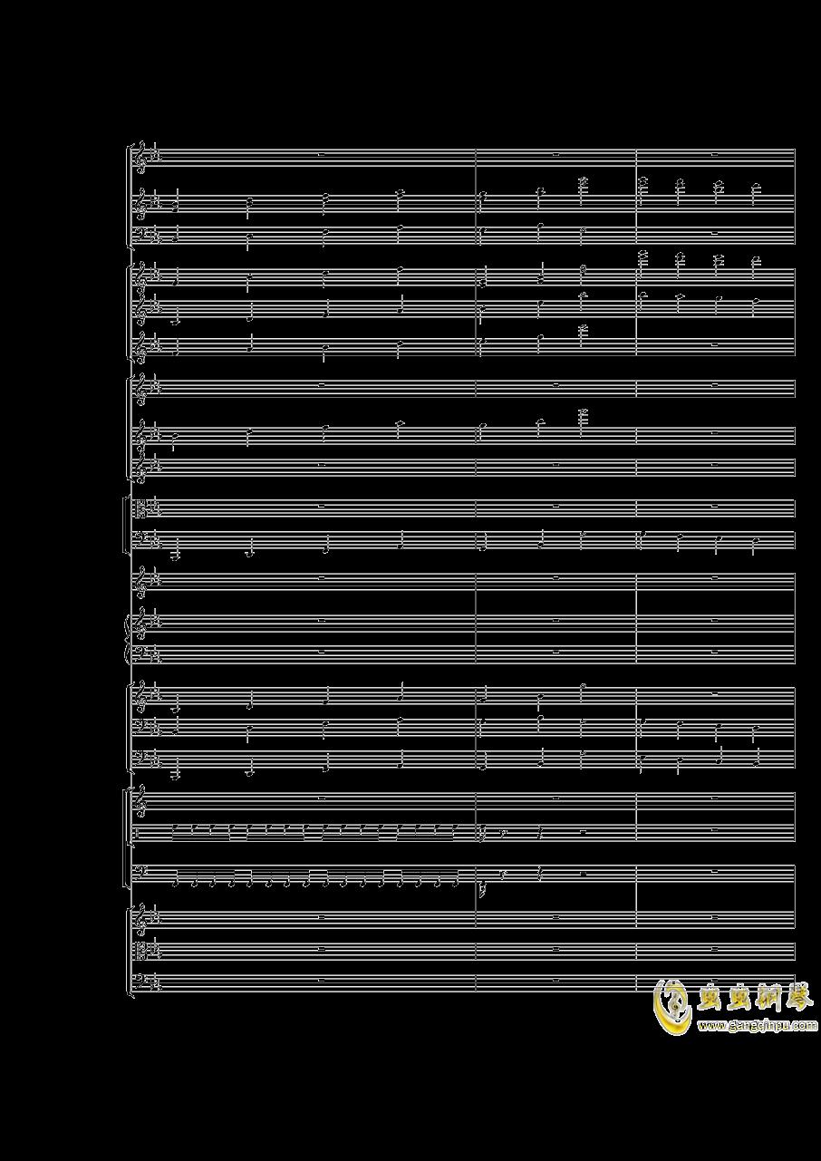 Piano Concerto No.3 in E Flat minor,I.Moderto钢琴谱 第27页