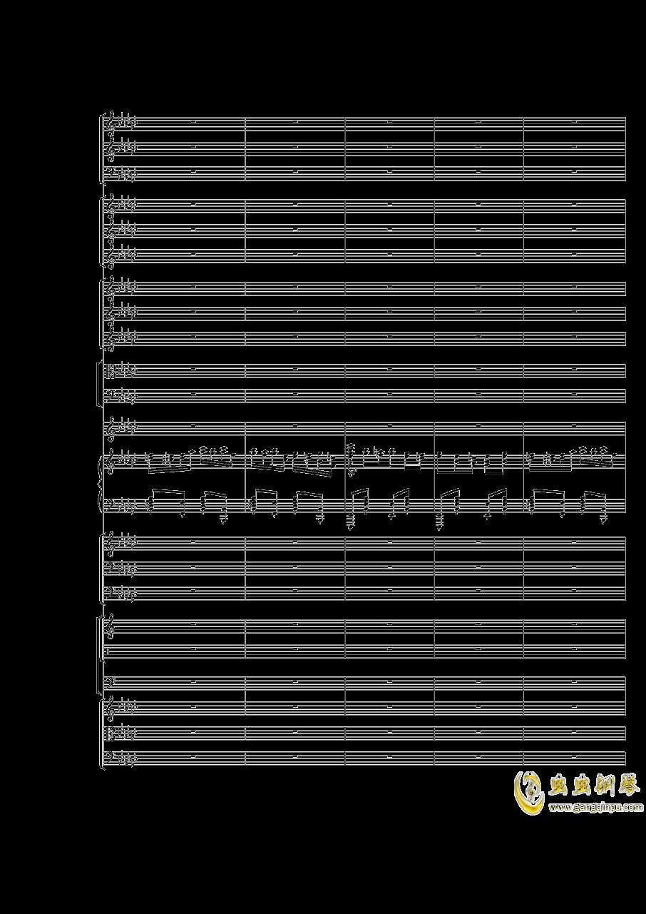 Piano Concerto No.3 in E Flat minor,I.Moderto钢琴谱 第29页