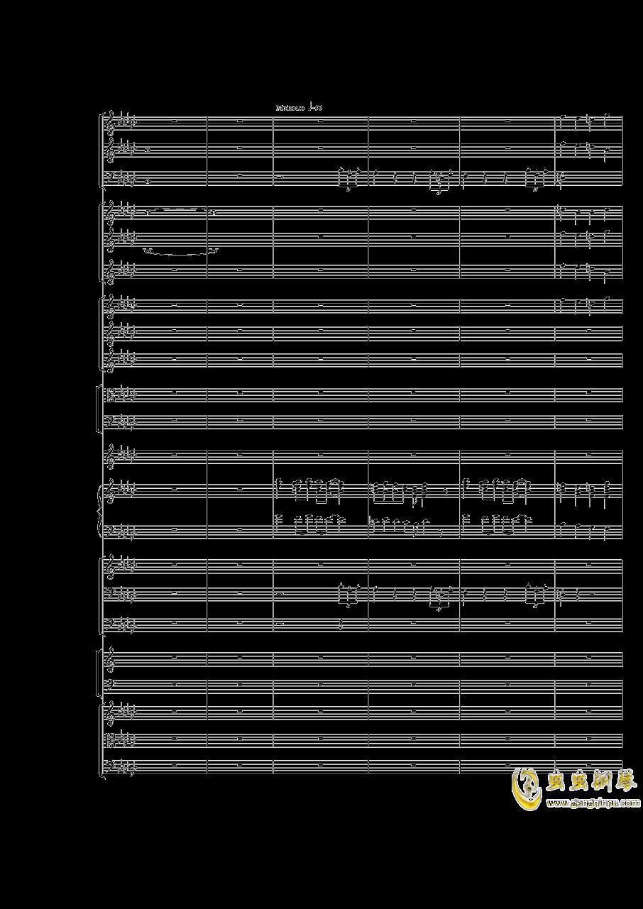 Piano Concerto No.3 in E Flat minor,I.Moderto钢琴谱 第3页