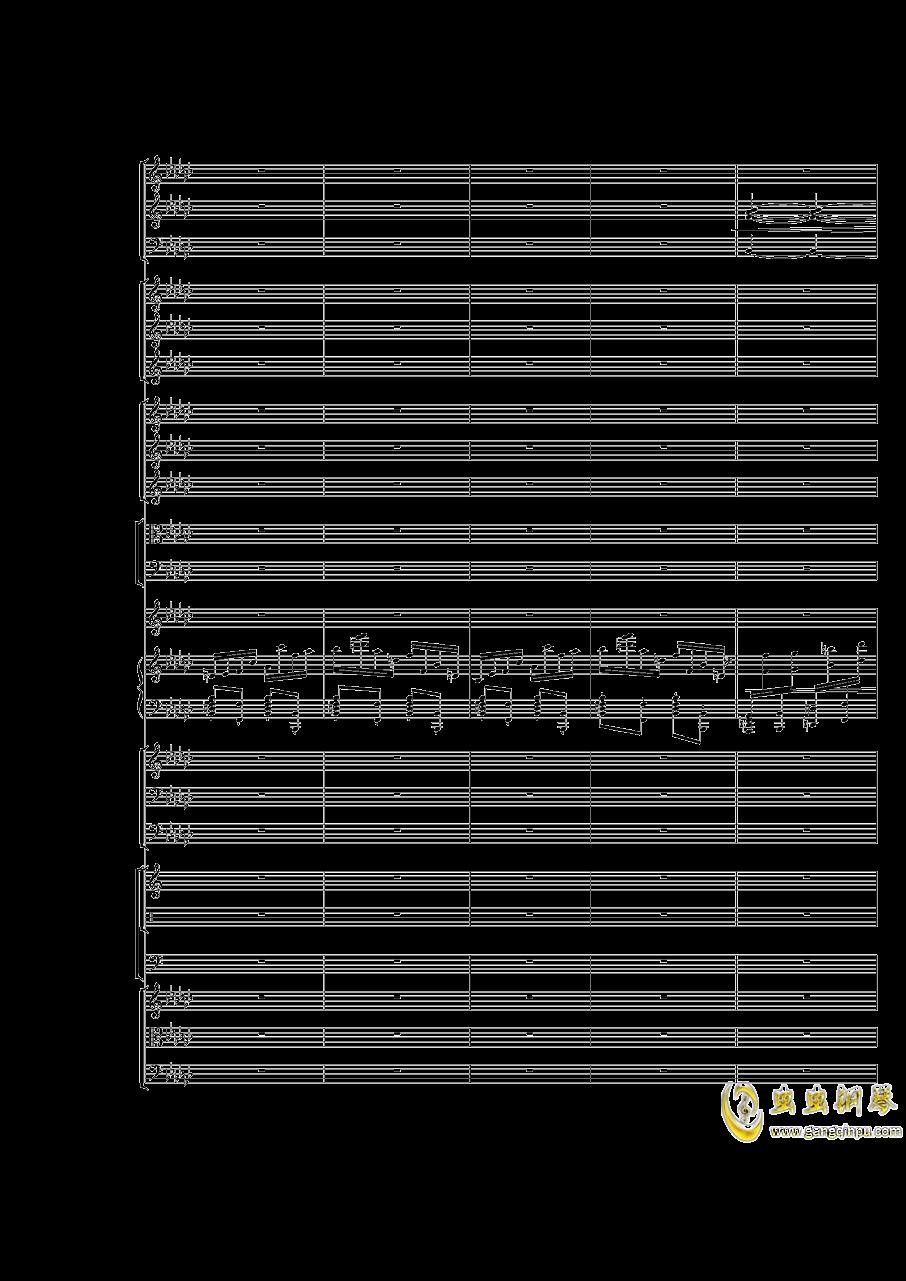 Piano Concerto No.3 in E Flat minor,I.Moderto钢琴谱 第31页