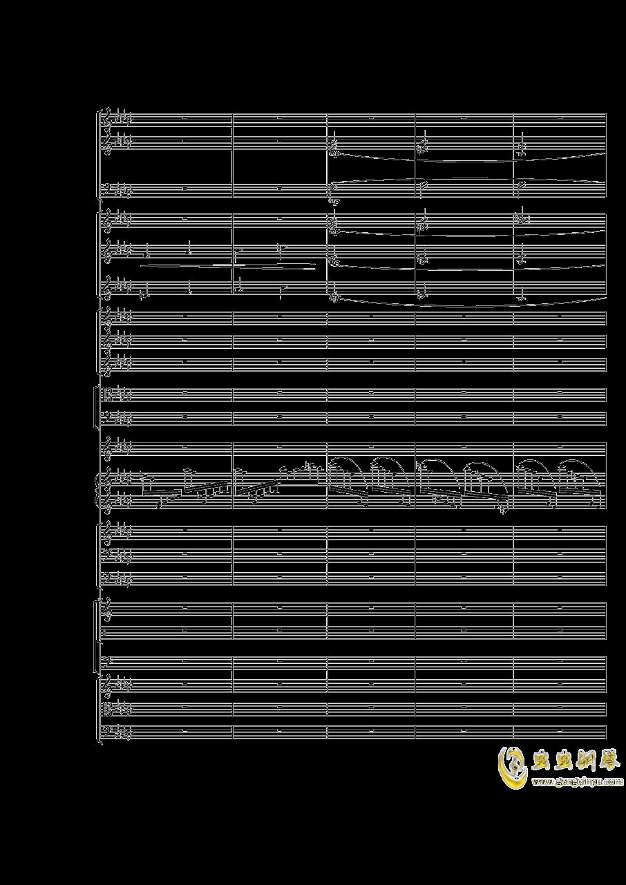 Piano Concerto No.3 in E Flat minor,I.Moderto钢琴谱 第34页