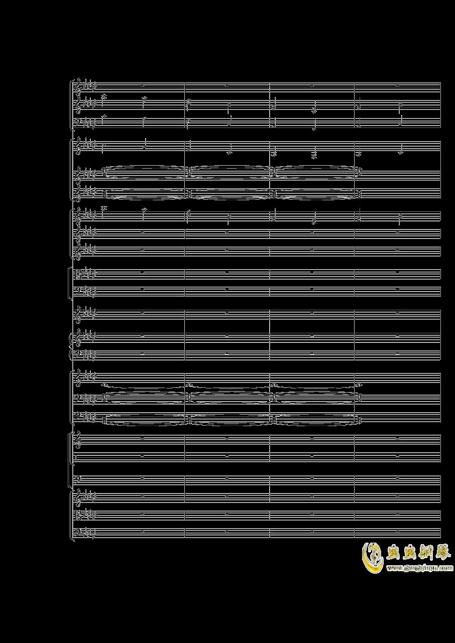 Piano Concerto No.3 in E Flat minor,I.Moderto钢琴谱 第43页