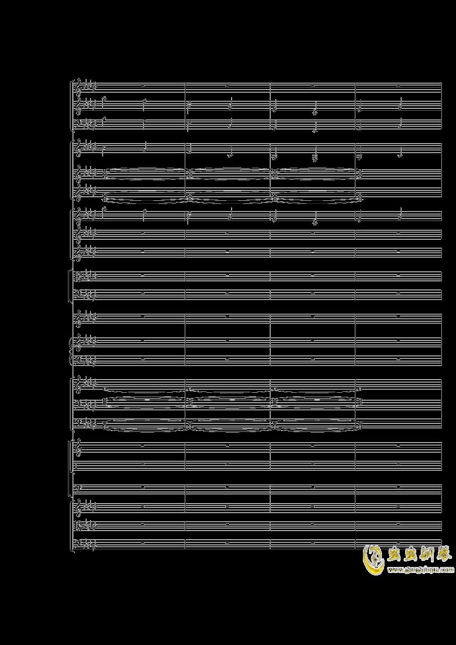Piano Concerto No.3 in E Flat minor,I.Moderto钢琴谱 第44页