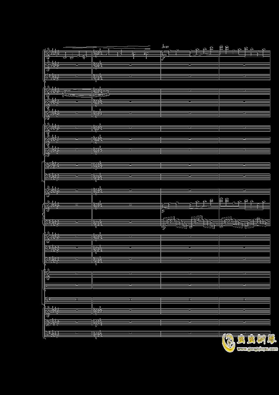 Piano Concerto No.3 in E Flat minor,I.Moderto钢琴谱 第45页