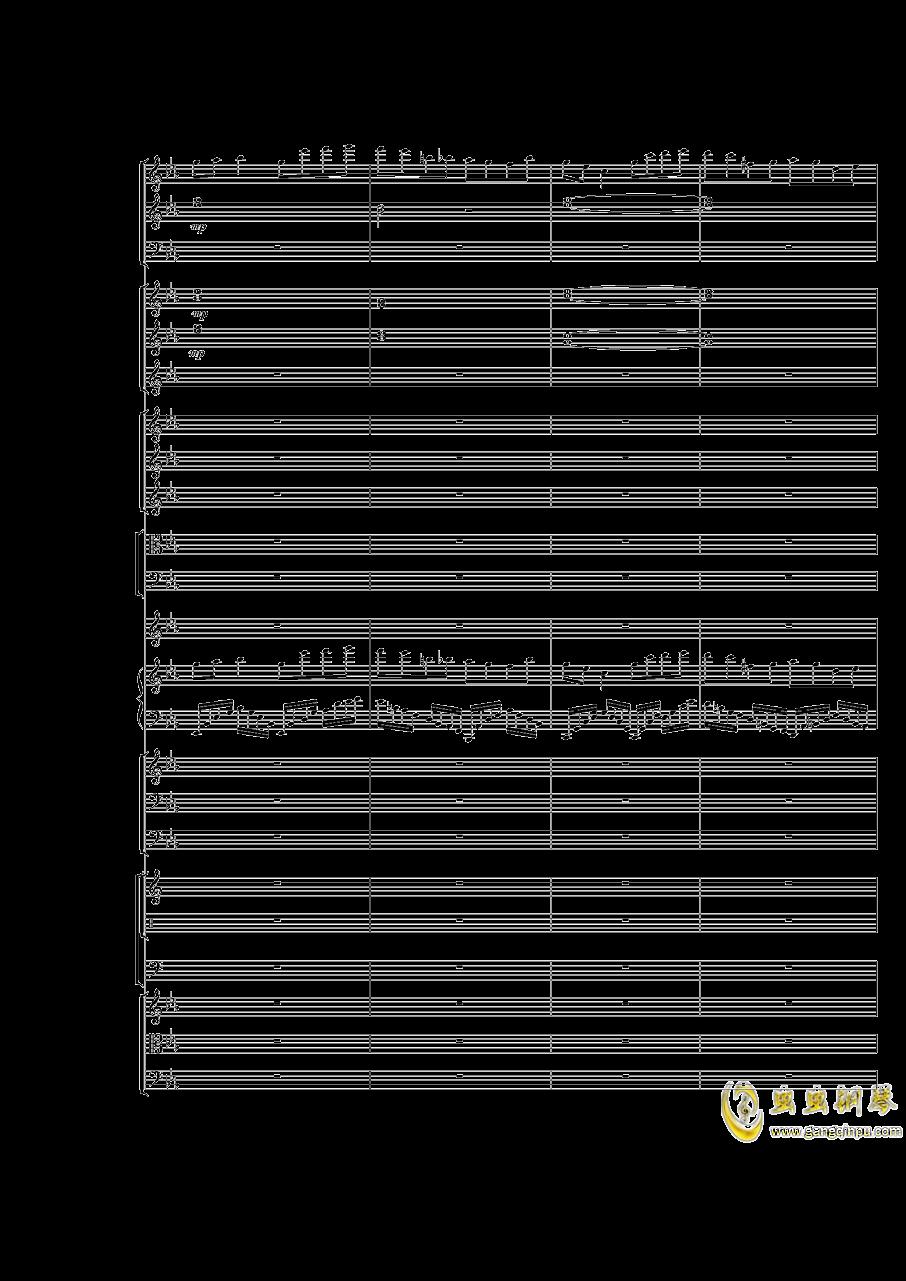 Piano Concerto No.3 in E Flat minor,I.Moderto钢琴谱 第46页