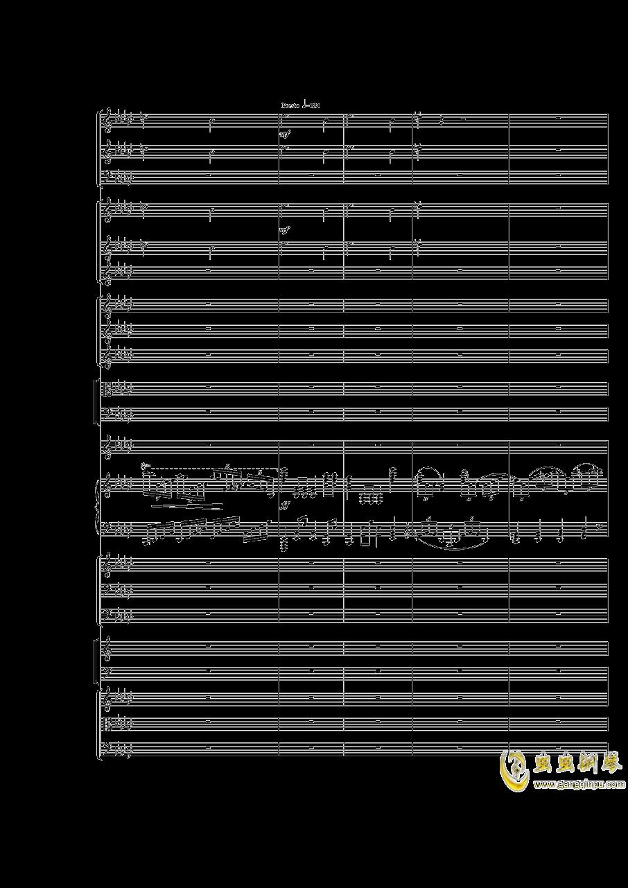 Piano Concerto No.3 in E Flat minor,I.Moderto钢琴谱 第8页