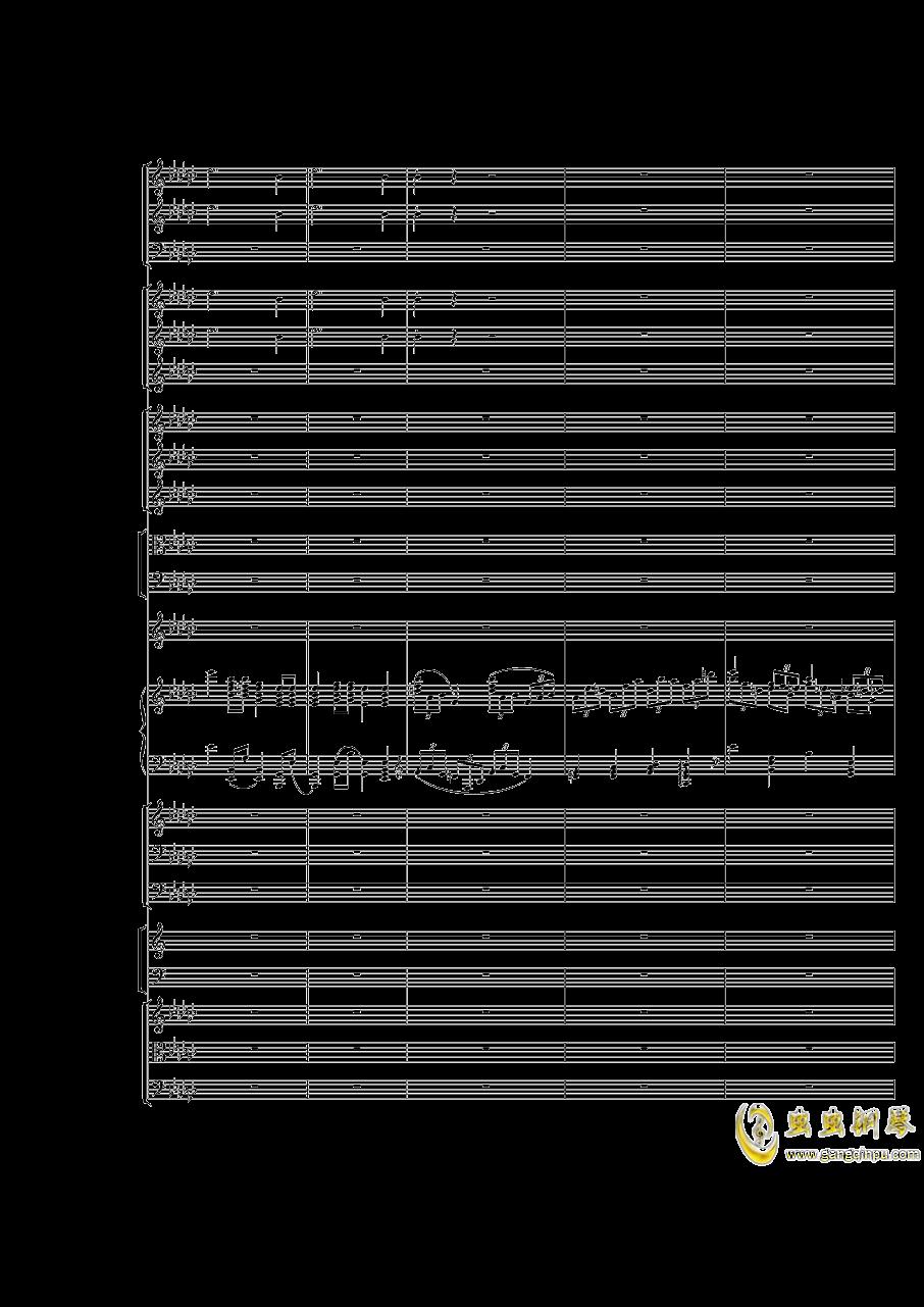 Piano Concerto No.3 in E Flat minor,I.Moderto钢琴谱 第9页