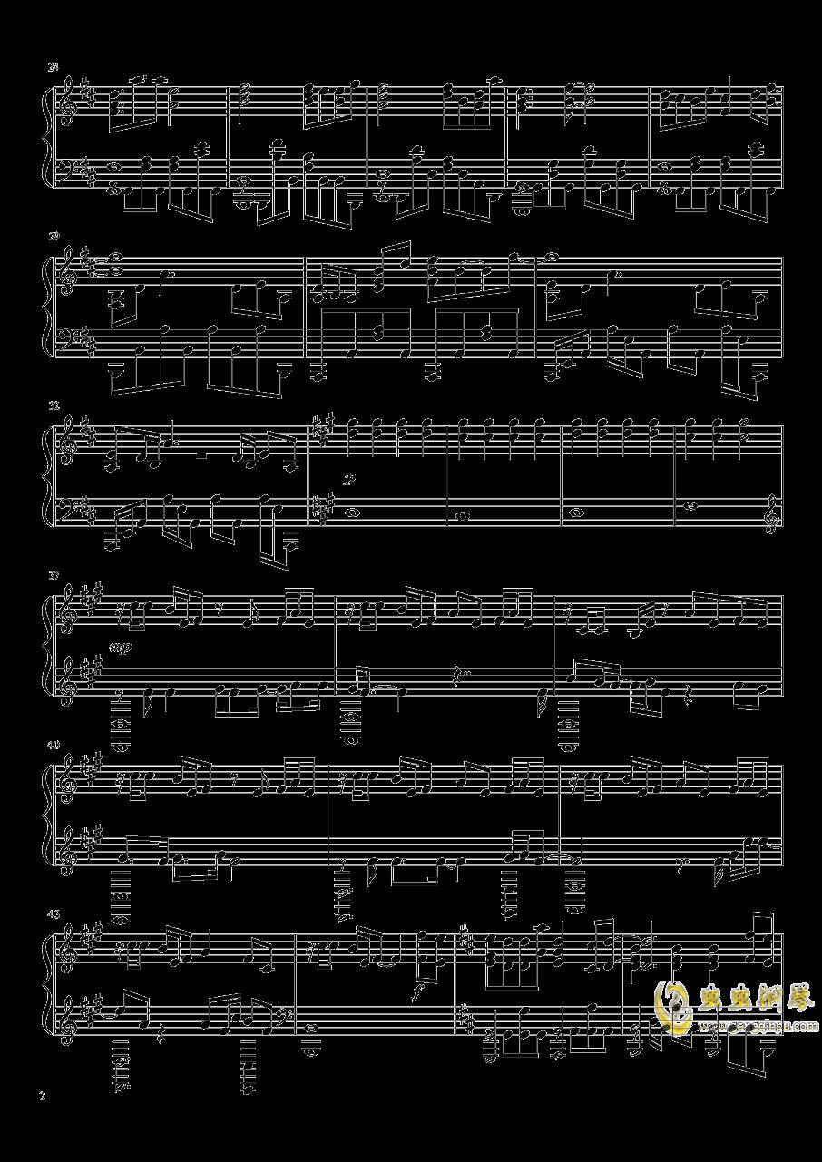 进击的巨人OST钢琴谱 第2页