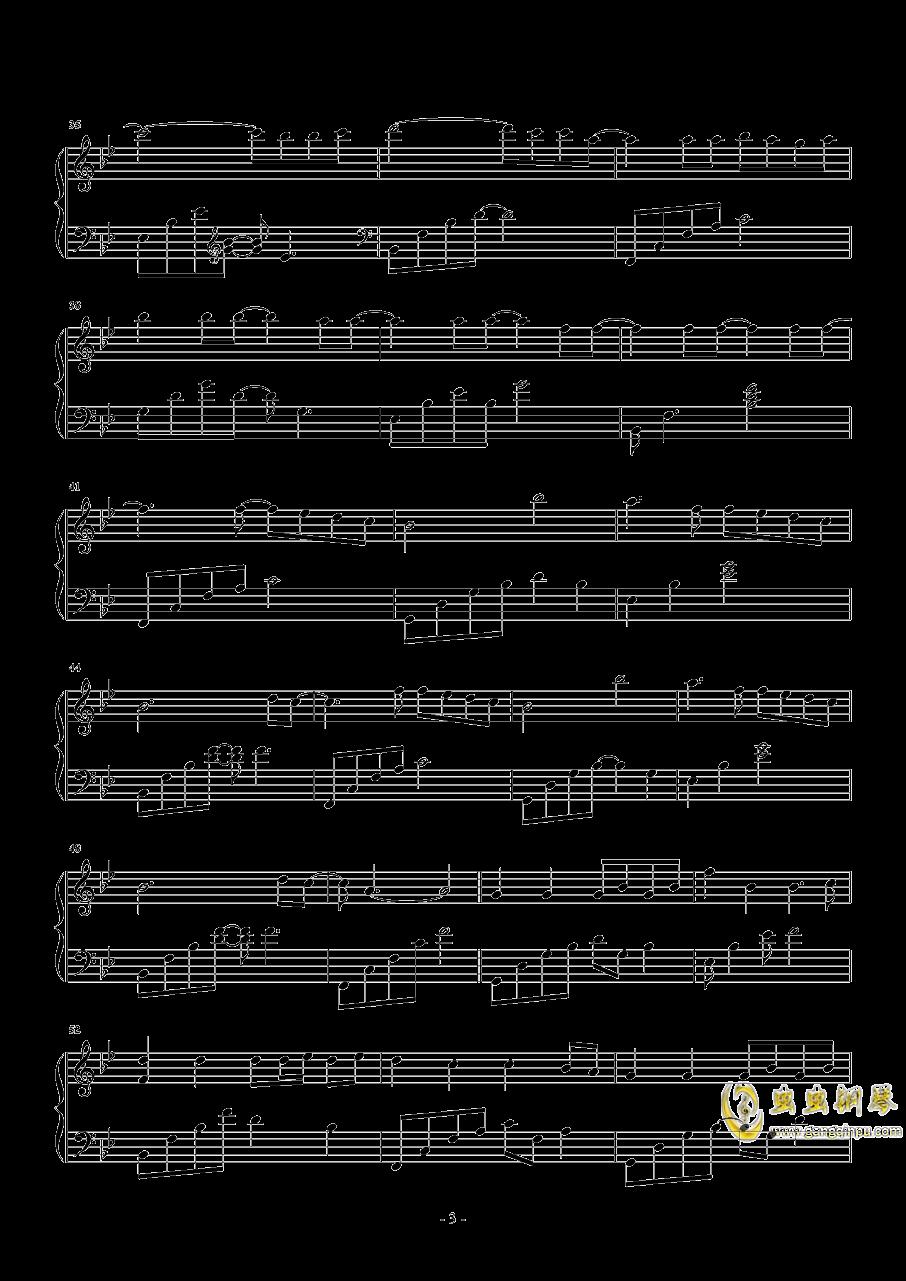 来自天堂的魔鬼钢琴谱 第3页